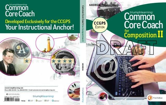 Georgia Common Core Coach, CCGPS Edition, Composition, Level II