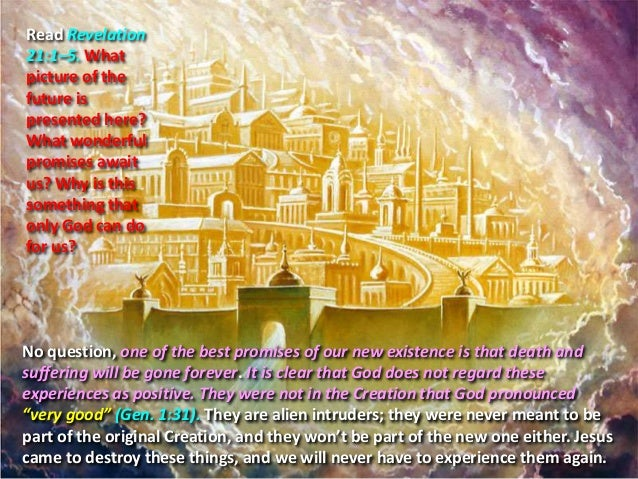 Revelations 13 1 5 Read Revelation 21 1 5