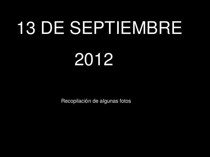 13 de septiembre