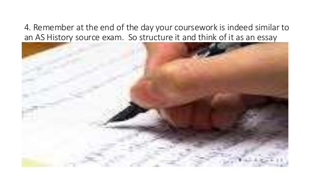 How to structure an A2 history coursework question?