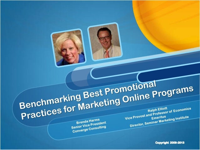 Best Practices in the Promotion and Marketing of Online Programs