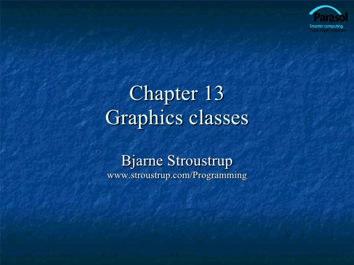 13 Graph Classes