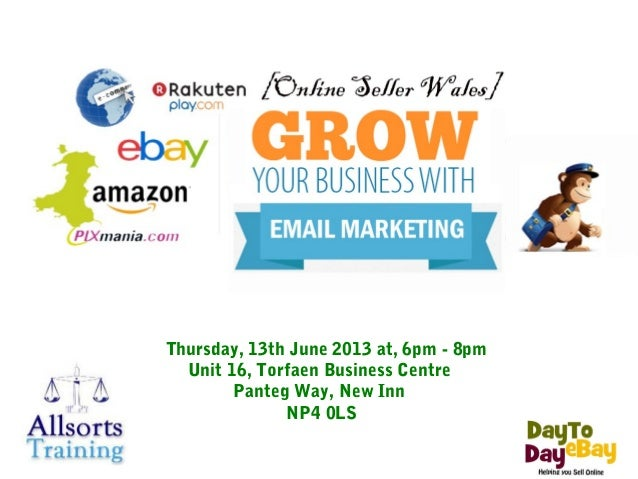 13 June Free Email Marketing Event  - Torfaen Business Centre