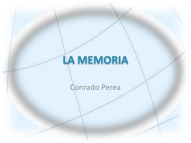 13 la memoria