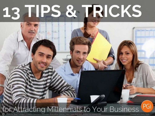13 Leadership Tips to Attract Talented Millennials