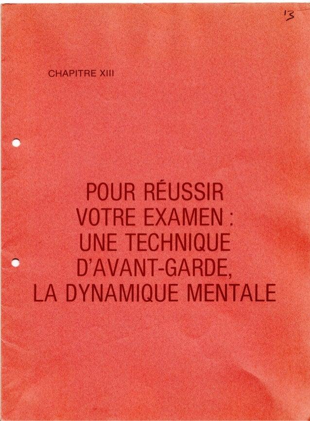 13 methode cerep_pour_reussir_votre_examen_une_technique_d_avant_garde_la_dynamique_mentale