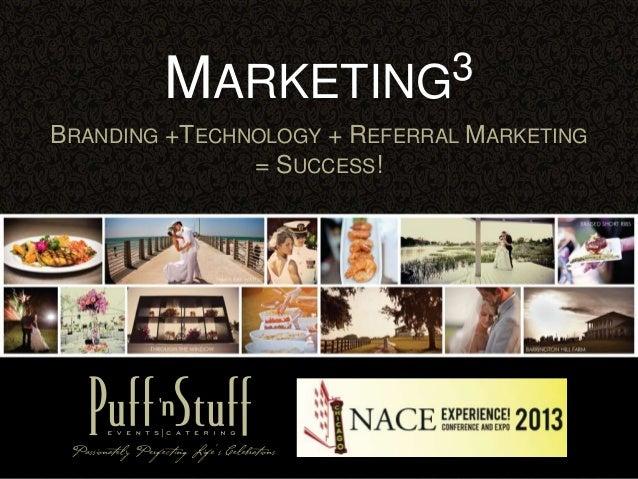 Marketing3 - NACE Experience 2013