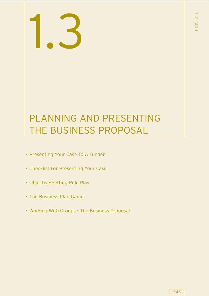 13 Planning