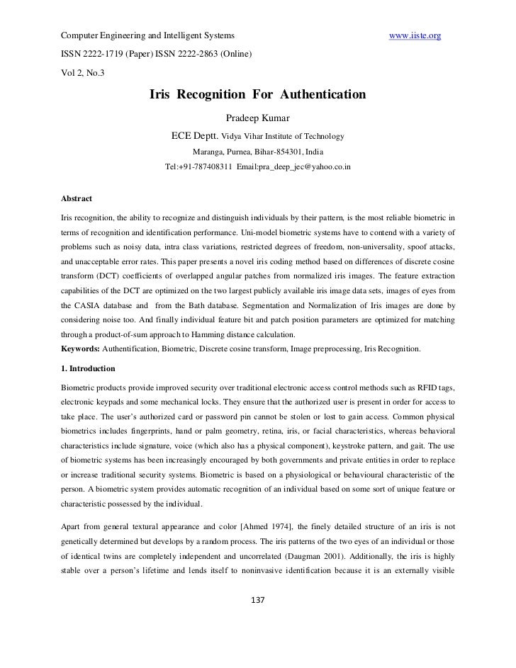 Computer Engineering and Intelligent Systems                                                         www.iiste.orgISSN 222...