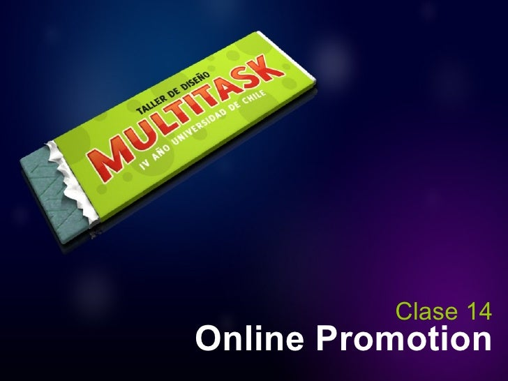 Online Promotion Clase 14