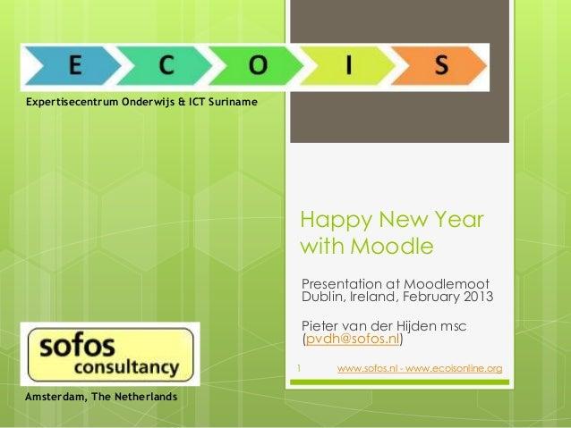Expertisecentrum Onderwijs & ICT Suriname                                            Happy New Year                       ...