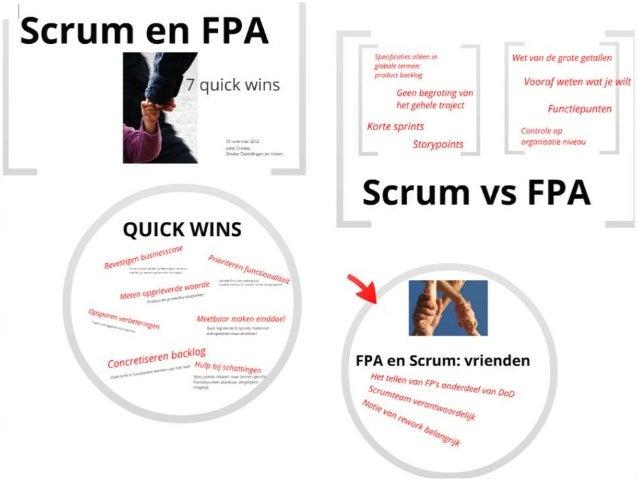 Scrum en FPA - Jolijn Onvlee - NESMA najaarsbijeenkomst 2012