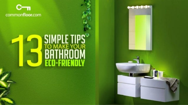 Install bathroom equipment which use less water in your bathroom to conserve water and use it efficiently #1