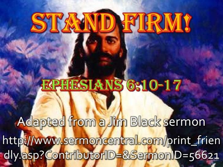 Adapted from a Jim Black sermonhttp://www.sermoncentral.com/print_friendly.asp?ContributorID=&SermonID=56621