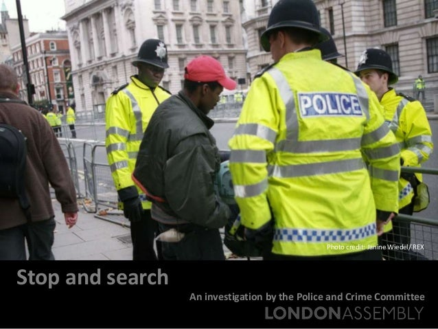 Stop and search: An investigation of the Met's new approach to stop and search