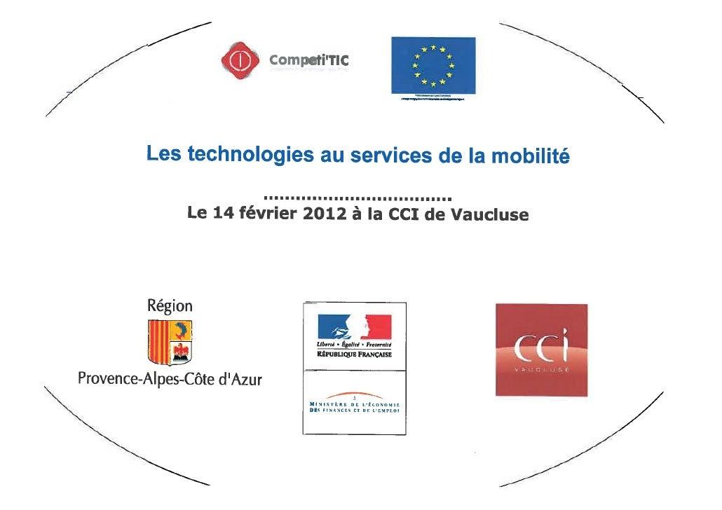 La technologie au service de la mobilité
