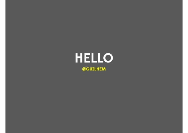 HELLO @GUILHEM