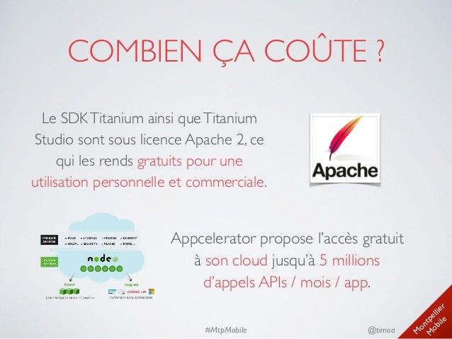 Pr sentation du framework titanium for Combien coute un conteneur