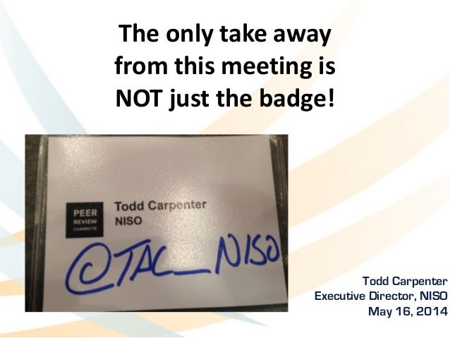 The	   only	   take	   away	   