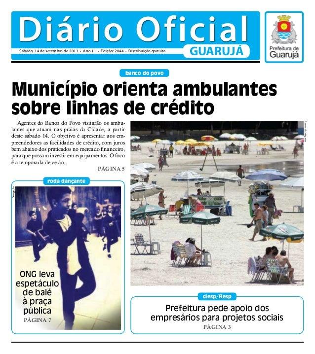 Prefeitura pede apoio dos empresários para projetos sociais PÁGINA 3 ciesp/fiesp banco do povo roda dançante Agentes do Ba...