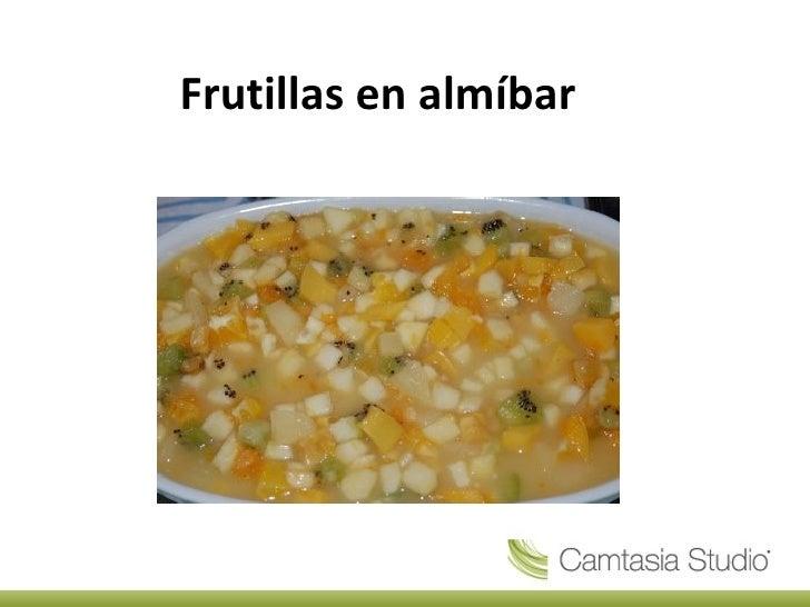Frutillas en almíbar