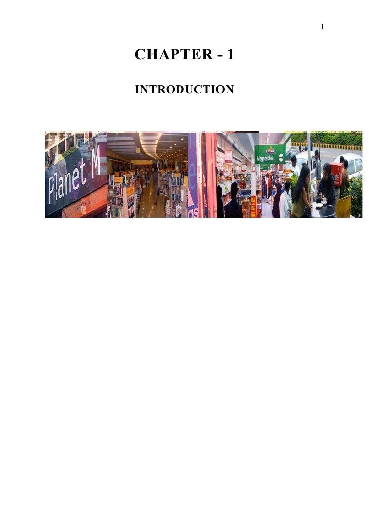 Retail IIPM Project