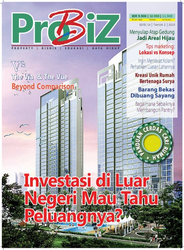 [AyoCariRumah.Com] Tabloid ProBiz Edisi 14, Peluang Investasi Property di Luar Negeri