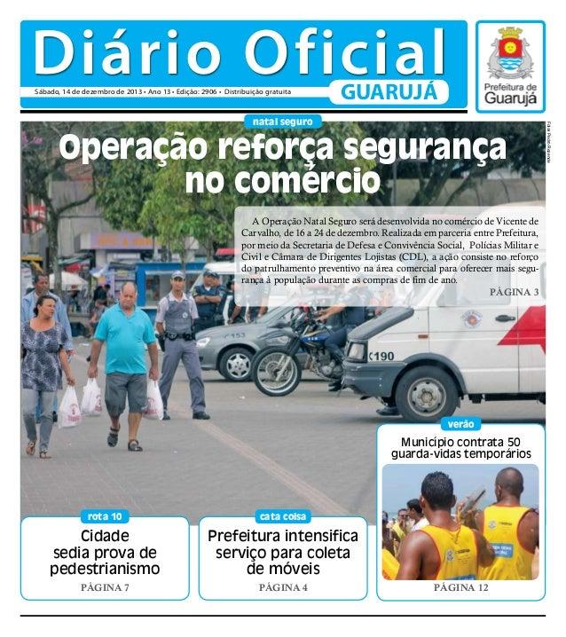 Diário Oficial do Dia - 14/12/2013