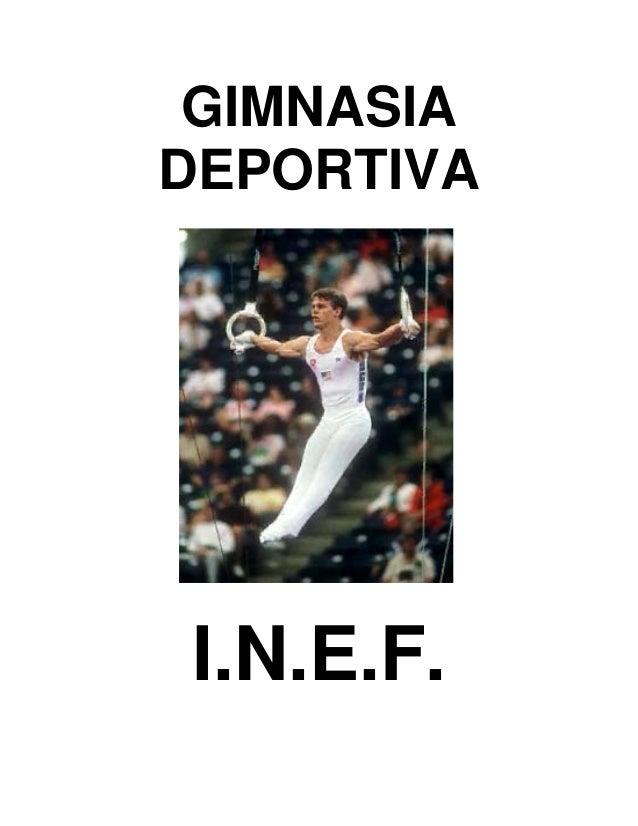 GIMNASIA DEPORTIVA  I.N.E.F.