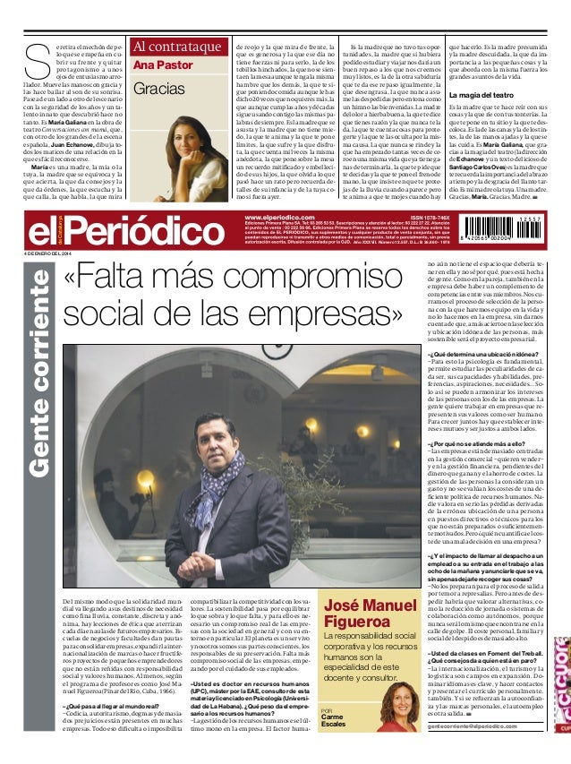 Falta más compromiso social de las empresas (El Periódico de Catalunya)