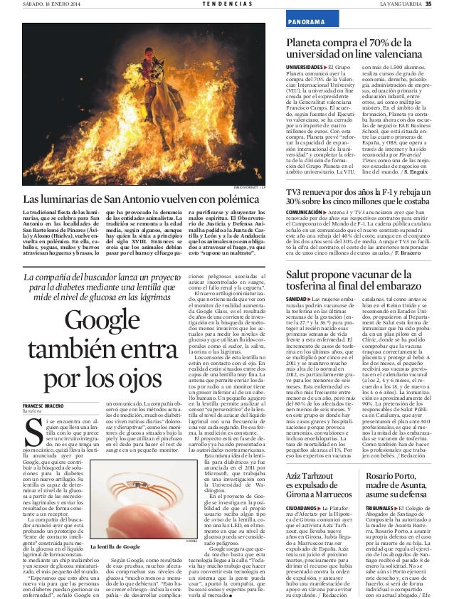 El Grupo Planeta amplía su oferta formativa (La Vanguardia)