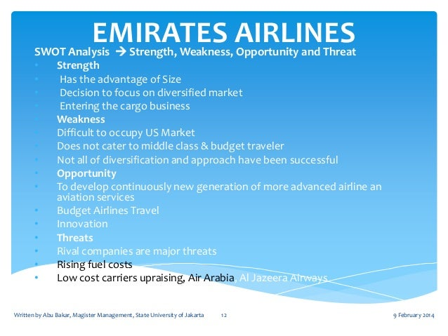 airline industry swot analysis Insights on the budget airline industry in hong kong it can be d swot analysis  in order to understand more about the airline market, we.