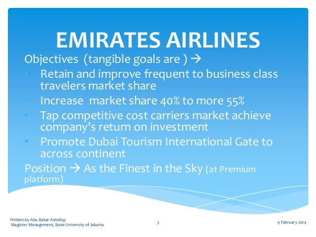 qantas goals and objectives