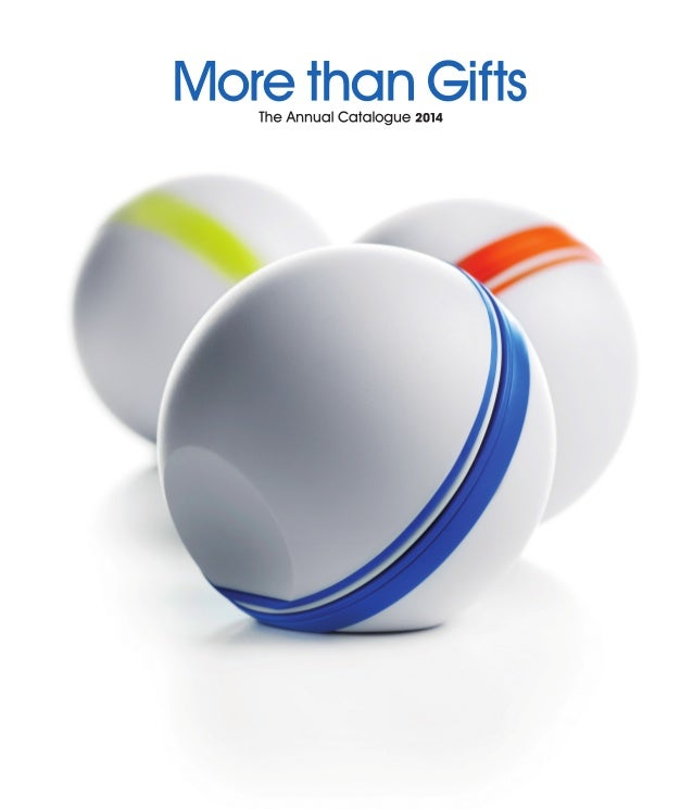 """""""We believe in continuous innovation."""" More than Gifts Ballas MO8172 p.08"""