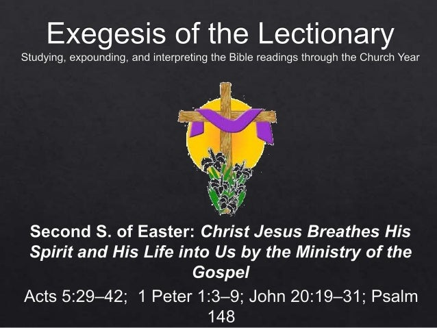 14.04.25 exegesis   easter 2