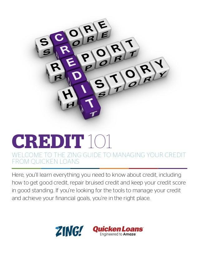 Managing Your Credit 101