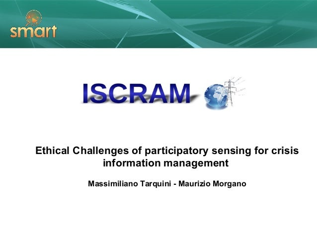 Ethical Challenges of Participatory Sensing for Crisis Information Management
