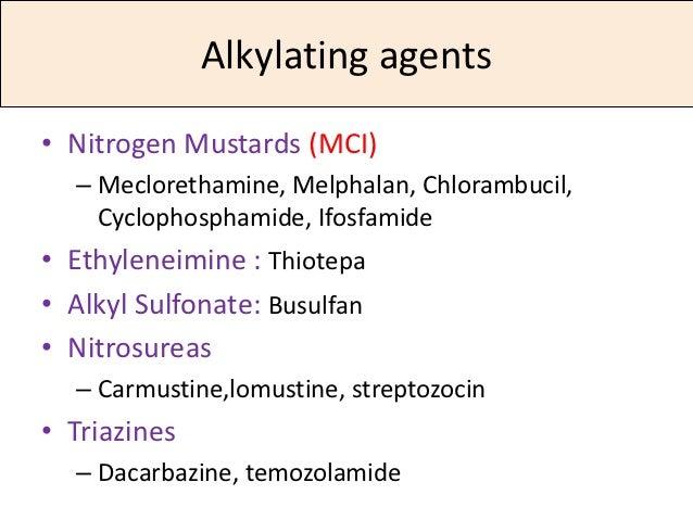 Chlorambucil Leukeran Chemotherapy