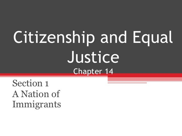 14. citizenship and equal justice and 17.elections and voting