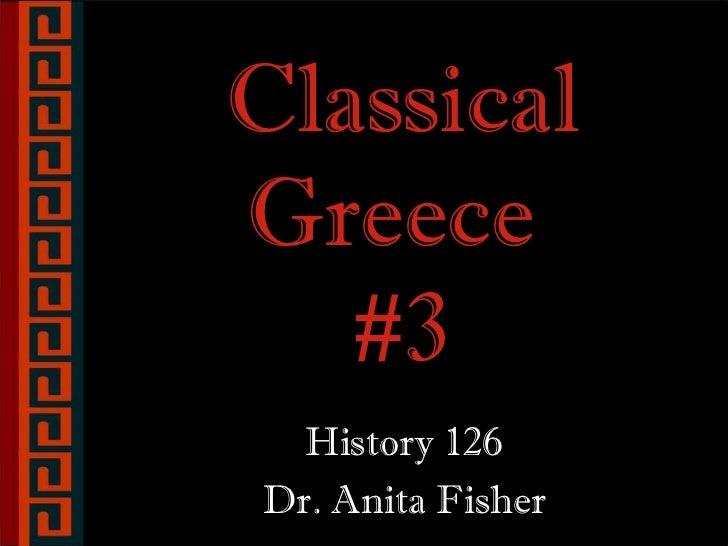 14. classical greece #3  (greeks #4) f