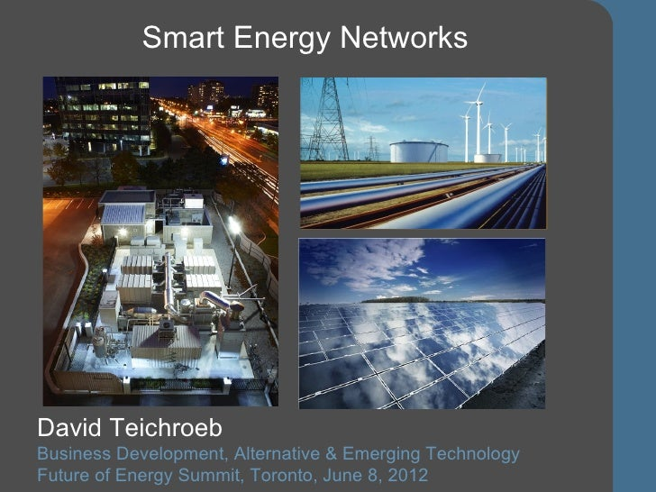 Combining different energy sources and uses by  David Teichroeb