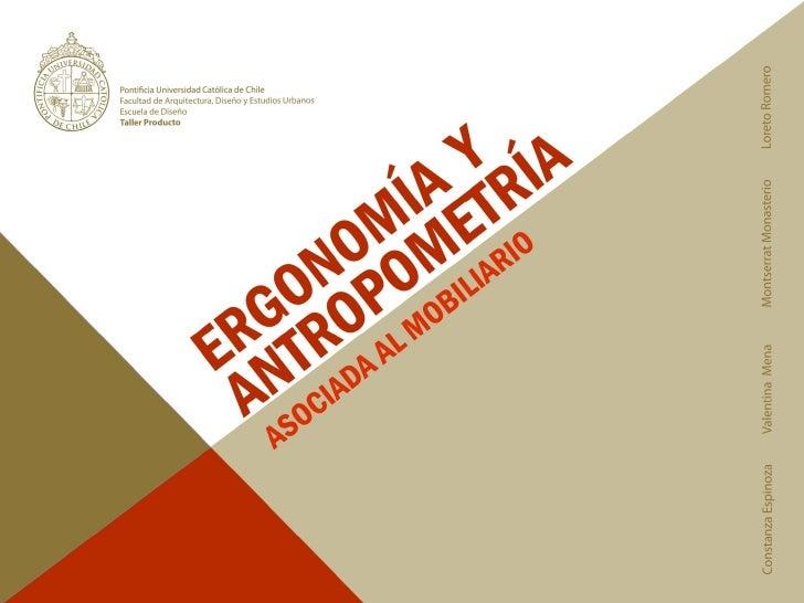 Ergonom a antropometr a for Antropometria libro
