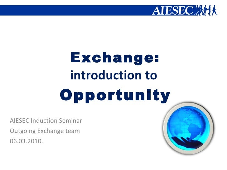AIESEC Riga IS: 14.Exchange Program
