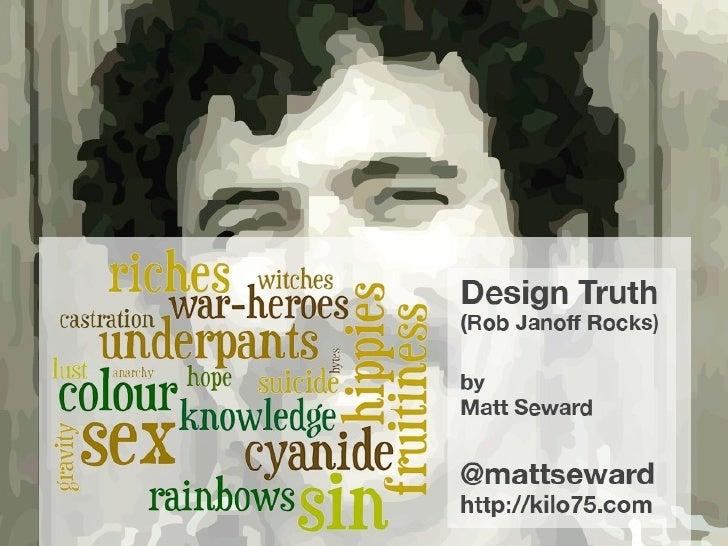 Design Truth (Matt Seward)