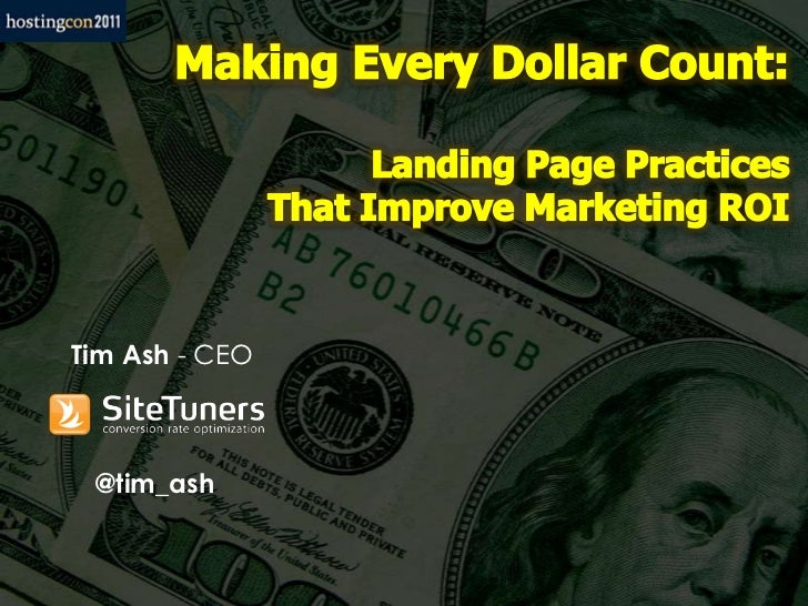 Making Every Dollar Count: Landing Page Practices That Improve Marketing ROI