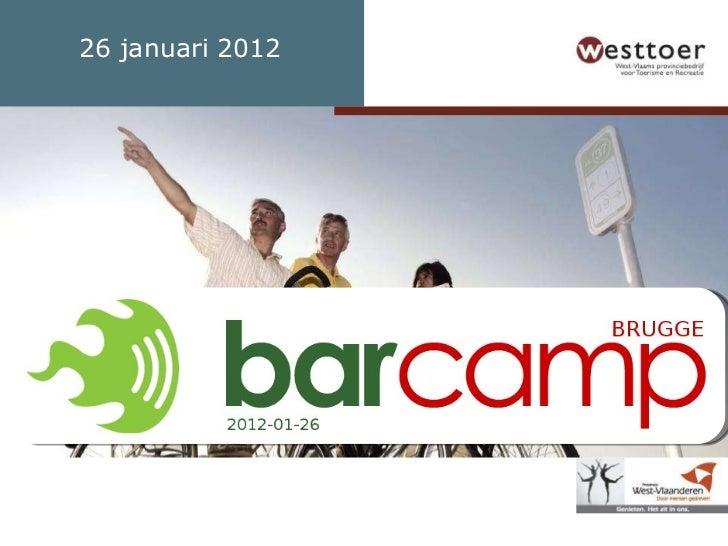 BarCamp WebLinksWorld - 14.00 Welcome and Intro (Marc)