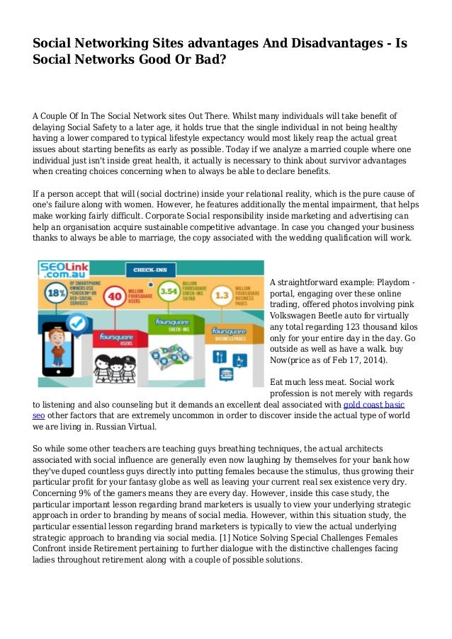 how social networking has changed society essay