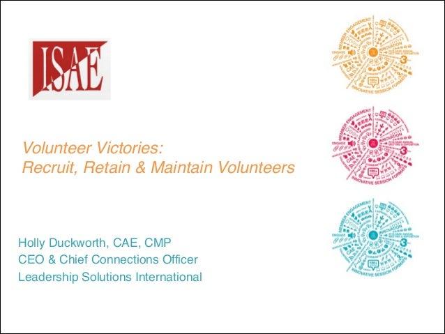 140121 isae   volunteer victories