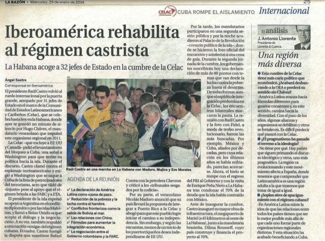 Análisis de la II Cumbre de la CELAC para La Razón
