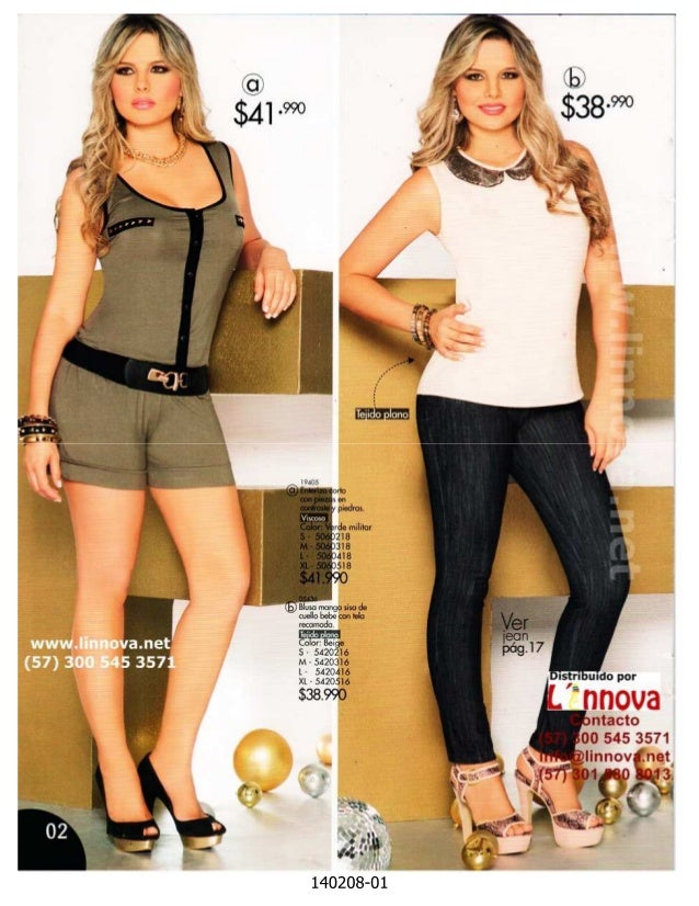 140208 - Blusas & Ropa Casual